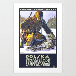 POLSKA Art Print