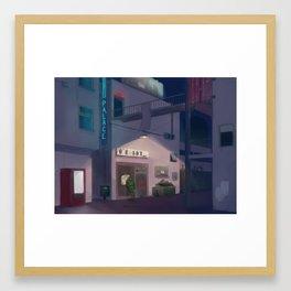 Lone Guard Framed Art Print