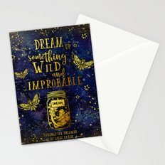 Dream Up Something Wild and Improbable (Strange The Dreamer) Stationery Cards
