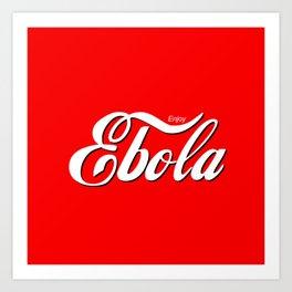 Ebola Art Print