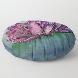 Lotus Flower Floor Pillow