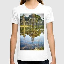 Lake Reflections - Colorful T-shirt