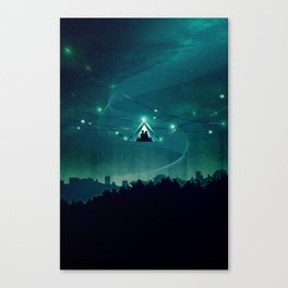 Wireless Camping Canvas Print