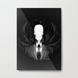 Slenderman Metal Print