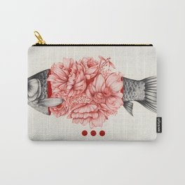To Bloom Not Bleed III Carry-All Pouch