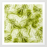geode Art Prints featuring geode by maika