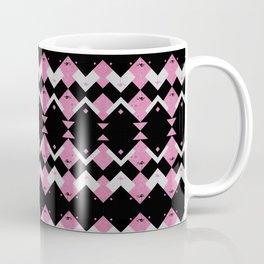 Pink Flamingos Art Deco Pattern Coffee Mug