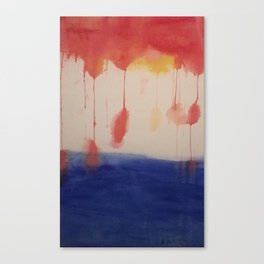 Gift of a Gumdrop Sky Canvas Print