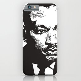 Dr Martin Luther King iPhone Case