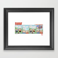 Vote Framed Art Print