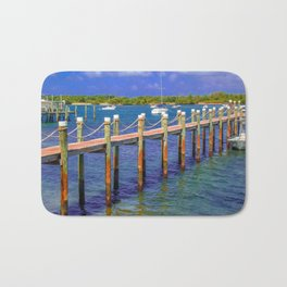 Boat Ramp To Paradise Bath Mat