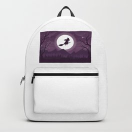 Scary Witch Happy Halloween Backpack