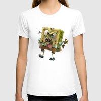 spongebob T-shirts featuring SpongeBob SquarePants by Tayfun Sezer