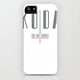 Koda Album Cover iPhone Case