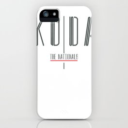 Koda Album Cover iPhone Case