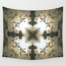 THROUGH THE CLOUDS KALEIDOSCOPE Wall Tapestry