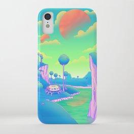 Planet Namek iPhone Case