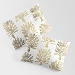 Palm Tree – Gold Palette Pillow Sham