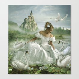 Princess Of The Pond Canvas Print