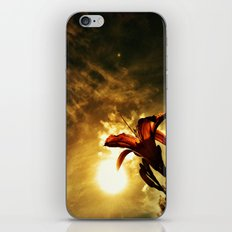 Fire Lily iPhone & iPod Skin