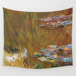 1917-Claude Monet-The Water Lily Pond Wall Tapestry
