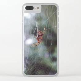 the weaver Clear iPhone Case
