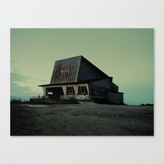 abandoned ski lift  Canvas Print
