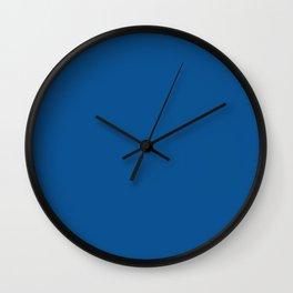 Trendy Basics - Trend Color LAPIS BLUE Wall Clock