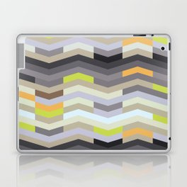 Modern Chevron - Fresh Green Laptop & iPad Skin
