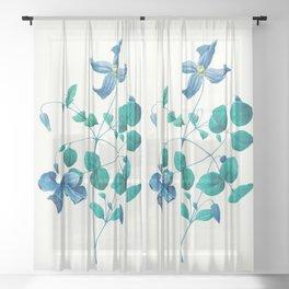 Botanica bloom Sheer Curtain
