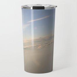 floating on the sky Travel Mug