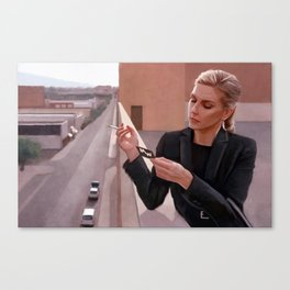 Kim Wexler On The Rooftop - Better Call Saul Canvas Print