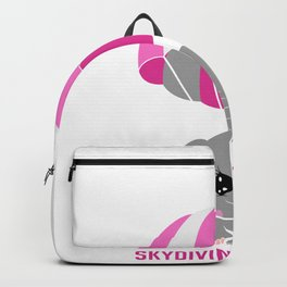 Drop Out Skydiver Gift Backpack