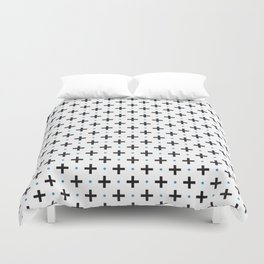 Plus Blue Dot Duvet Cover
