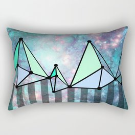 intergalactic mountains (collab) Rectangular Pillow