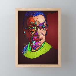 Notorious RBG Framed Mini Art Print
