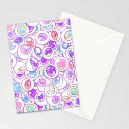 Kawaii Balls Stationery Cards