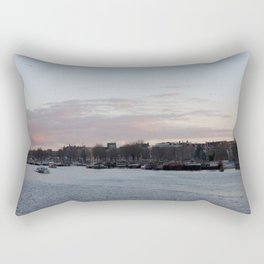 Amsterdam sunset 1 Rectangular Pillow