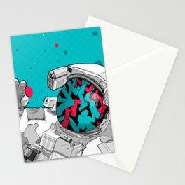 The Graffiti Space Traveller Stationery Cards