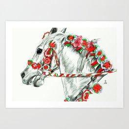 Rosalia Art Print