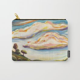 Color clouds in the valey Carry-All Pouch