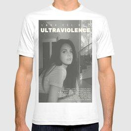 La-na Del Rey - Ultraviolence alternative album Poster T-shirt