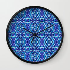 Diamond Tiles 2 Wall Clock