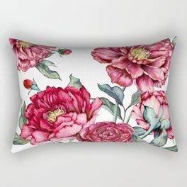 flower watercolor4 Rectangular Pillow