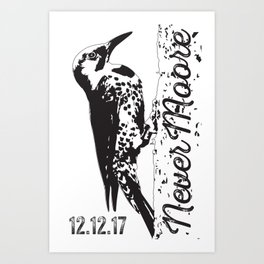 Yellowhammer NeverMoore Art Print