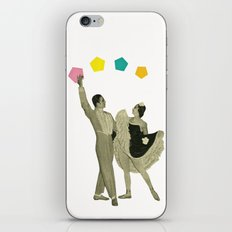 Throwing Shapes on the Dance Floor iPhone & iPod Skin