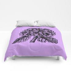 Lavender Hydrangea Comforters