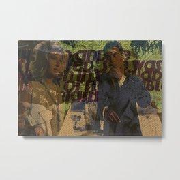 Delon & Vitti Metal Print