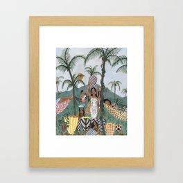 Sweet Palm Sugar Framed Art Print