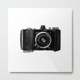Old Retro Camera Metal Print